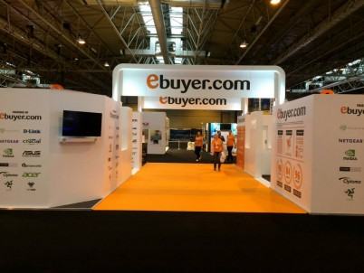 Ebuyer - The Gadget Show ExhIbition Stand at the NEC